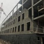 Начало строительства школы