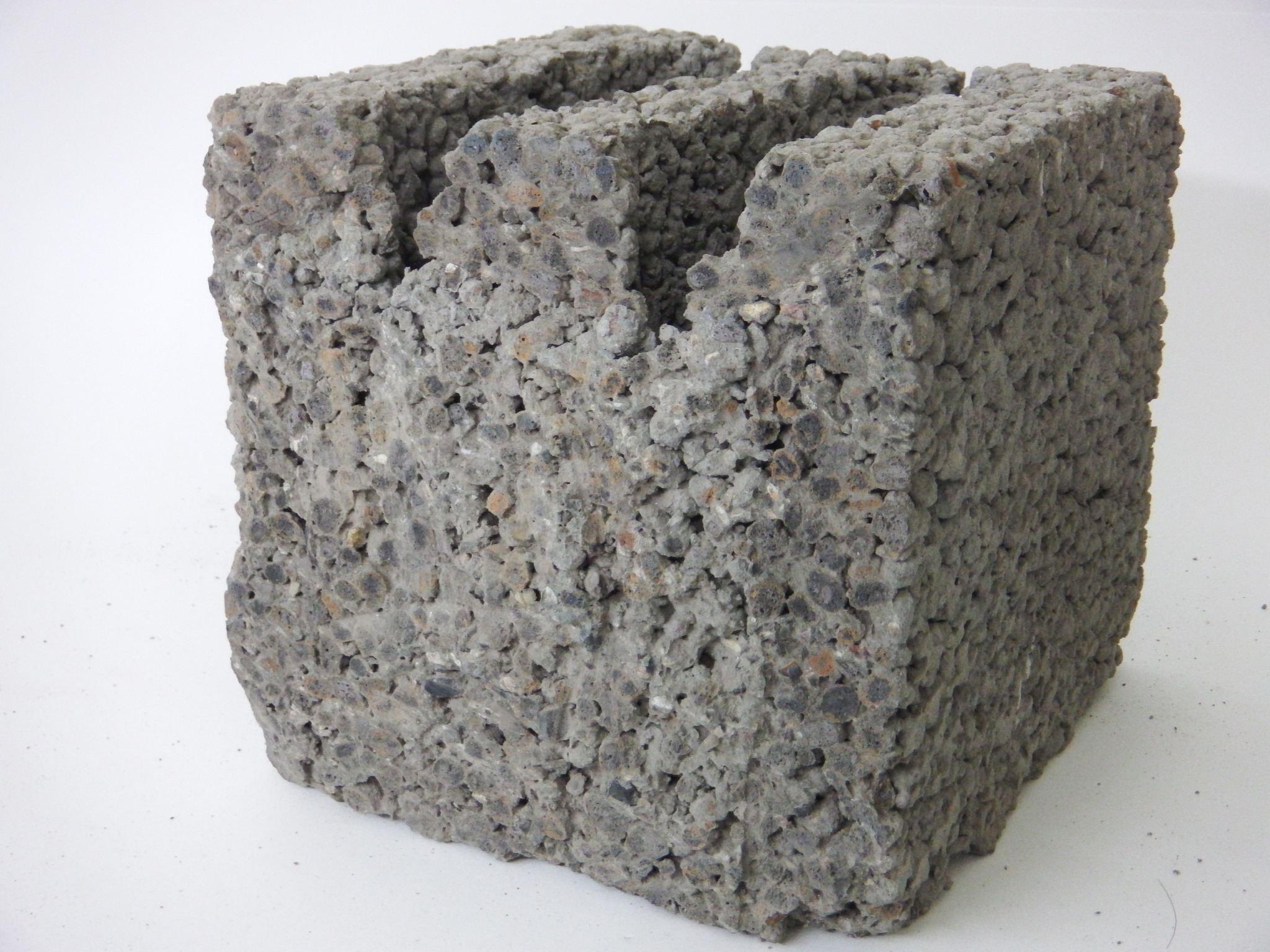 Керамзитобетона в разрезе бетон влагоизоляция