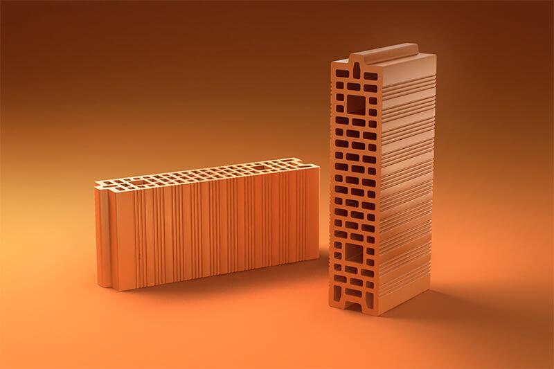 Керамические блоки PORIKAM 510ПГх120х219