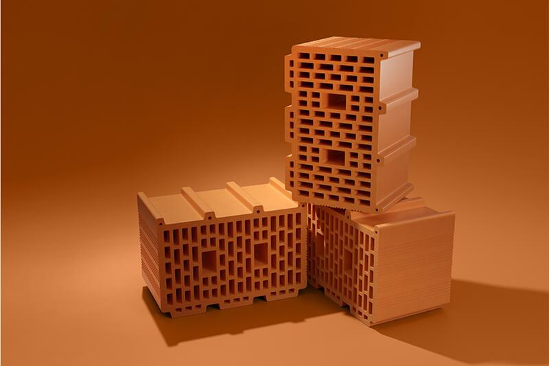 Керамические блоки PORIKAM 250ПГх380х219