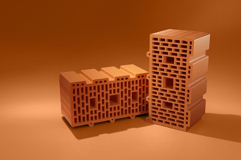 Керамические блоки PORIKAM 510ПГх250х219