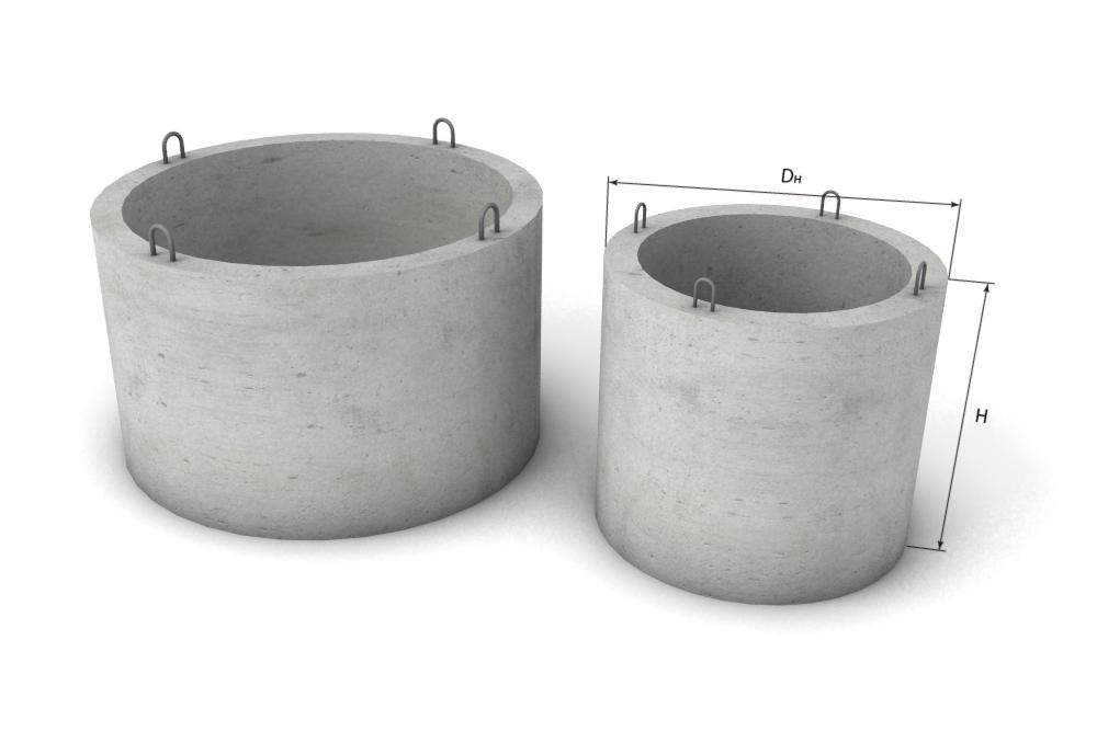 Стеновое кольцо колодца (КС 10.9)