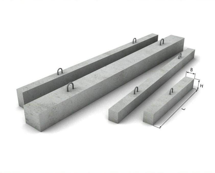 Перемычки бетонные ПБ
