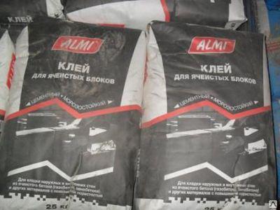 Клей «АЛМИ» для ячеистых блоков, 25кг